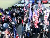 Patriot Guard Motorcycle Riders Perform Spirit of Liberty Ride for Freedom